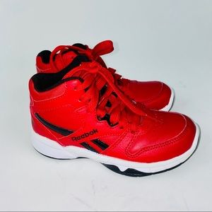 REEBOK BB4500 HI 2.0 Red SHOES Toddler Boy Size 11